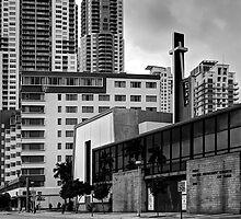 City Steeple by njordphoto
