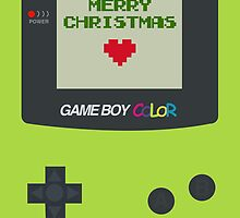 Gameboy Color Christmas Card by jeice27