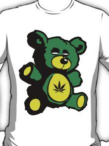 I Love Pot Clothing Stash Bear T-Shirt