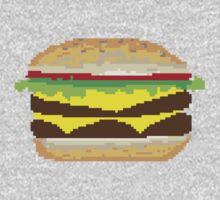 Pixel-Burger Kids Clothes
