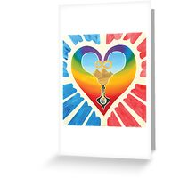 One Love; Earth In Heaven Birthed Greeting Card