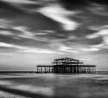 West Pier, Brighton by Stuart  Gennery