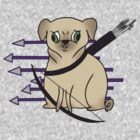 Hawkeye Pug by yunnn