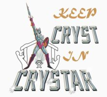 Keep CRYST In CRYSTAR Kids Clothes