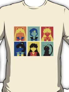 Sailor Moon Pop Art T-Shirt