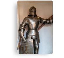 Knight armour. Canvas Print