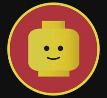 MINIFIG HAPPY FACE by Chillee Wilson from Customize My Minifig by ChilleeW