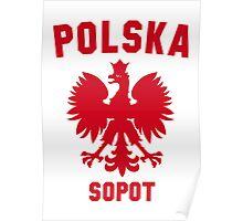 POLSKA SOPOT Poster