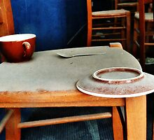 The Cup, Saucer and Spoon  by PictureNZ