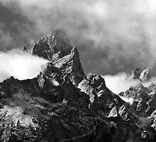 Grand Tetons by Charles Kosina