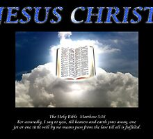 JESUS CHRIST The Holy Bible by Sᴄᴏᴛᴛ E. Mᴏʀʀɪs †