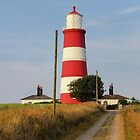 Happisburgh Lighthouse Norfolk  by Avril Harris