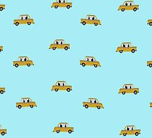 New York city cab wallpaper by funkyworm