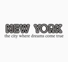 New York by cherrilynnn