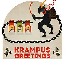 Krampus Greetings by Tiki2