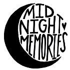 Midnight Memories Moon- Black by samonstage