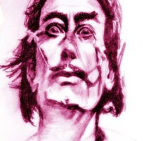 Mad Dalí by Crowbiscuit