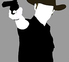 Rick Grimes Silhouette by beast22ros