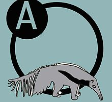 A is for...Anteater by The Animali Series