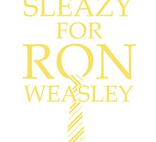 I'd get Sleazy for Ron Weasley by davrico