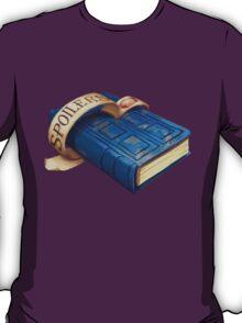 Spoilers, River Song's Tardis Journal T-Shirt