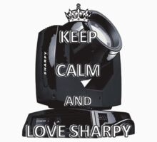 Keep calm and love sharpy by Borghy