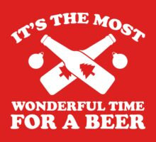 It's The Most Wonderful Time For A Beer by BrightDesign