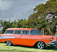 1957 Chevrolet Bel Air 'Beach Wagon' by DaveKoontz