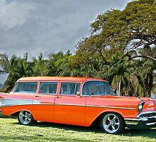 1957 Chevrolet Bel Air 'Beach Wagon' by DaveKoontz