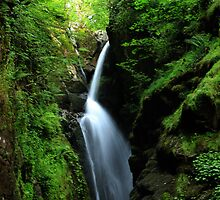 Aira Falls Cumbria Lake District by liberthine01