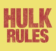 Hulk Rules by Indestructibbo