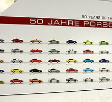 Porsche 911 50th Year Anniversary by Alex Rentzis