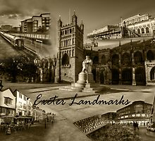 Exeter Landmarks  by Rob Hawkins