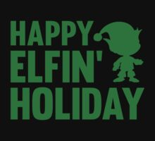 Happy Elfin' Holiday by BrightDesign