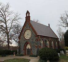Renwick Chapel, Oak Hill Cemetery by Kelly Morris