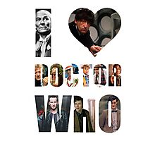 I *Heart* Doctor Who Photographic Print