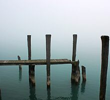 Foggy Dock 6 by marybedy