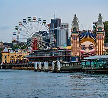 Luna Park, Sydney by Deborah McGrath