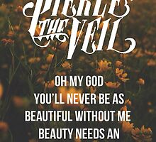 Pierce the Veil Poster by Vic Carlile