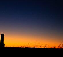 Ft. Griffin sunset by Derrick Birdsall