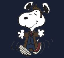 Snoopy as the 10th Doctor Kids Clothes