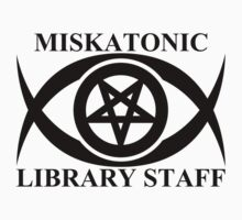 MISKATONIC LIBRARY STAFF by auraclover