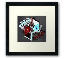 Raava and Vaatu Framed Print