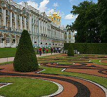 Catherine Palace in Tsarskoye Selo, StPetersburg by olegkuzmin