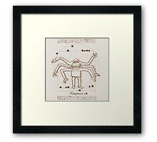 Kamajitruvien Framed Print