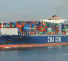 CMA CGM Parsifal by Jonathan Cox