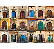 Doors of Sinasos Photographic Print