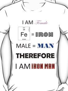 Female Iron Man T-Shirt