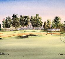 Oakmont Golf Course 14Th Green by bill holkham