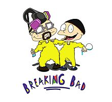 Rugrats/Breaking Bad - Chefs Photographic Print